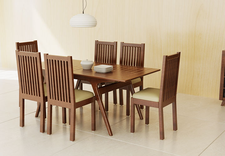 Ross ( 6 Seater Dining Table)