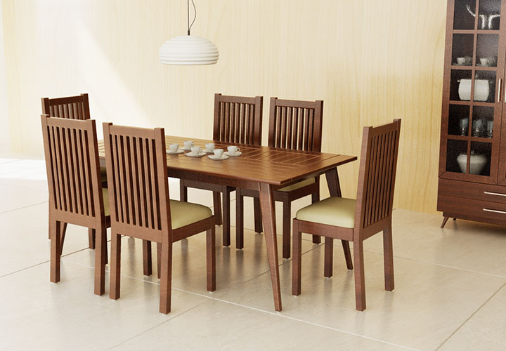 Prada ( 6 Seater Dining Table )