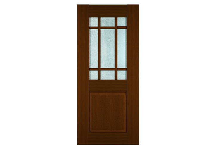 Louvered top door for Teak wood doors in visakhapatnam