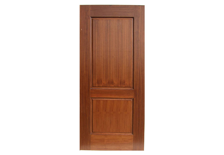 Louvered bottom door for Teak wood doors in visakhapatnam