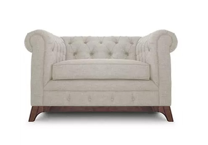 Maya Chester Field 1 Seater Sofa