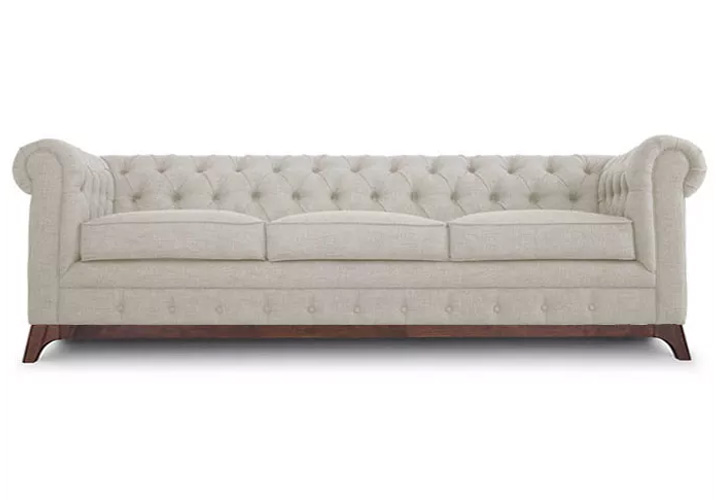 Maya Chester Field 3 Seater Sofa