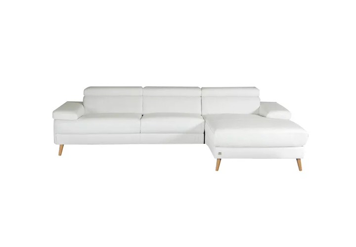 Quest motion Sofa white leather