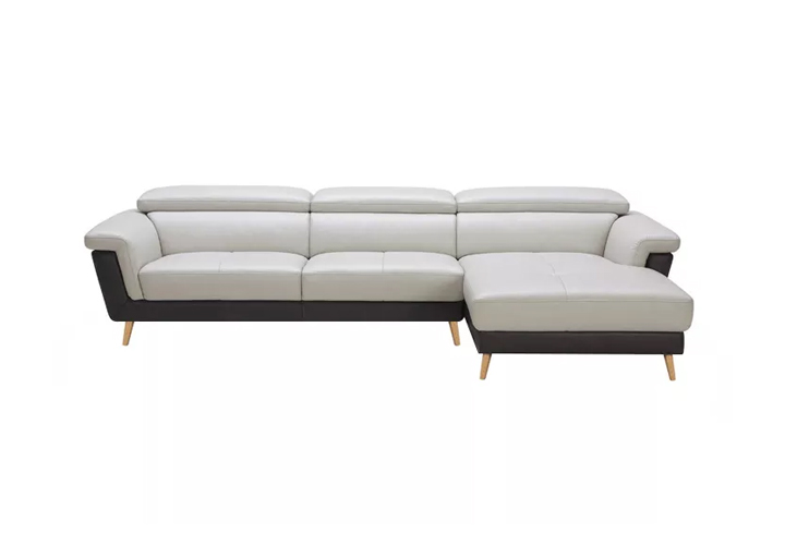 Vintage Motion Sofa white leather
